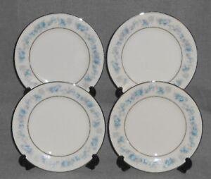 Set (4) Noritake Ivory China SPLENDOR PATTERN Dessert/B&B Plates JAPAN
