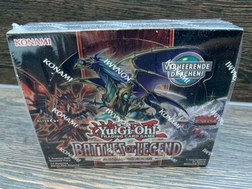 Yu-Gi-Oh Battles of Legend Armageddon 24 Booster Display 1 Auflage Deutsch