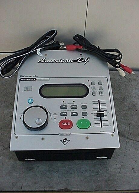 AMERICAN AUDIO PRO DJ1 D Reproductor y los cables cables cables C  venta al por mayor barato