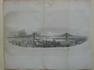 New-York-City-East-River-Bridge-Proposal-1869-Valentine-lithograph-print