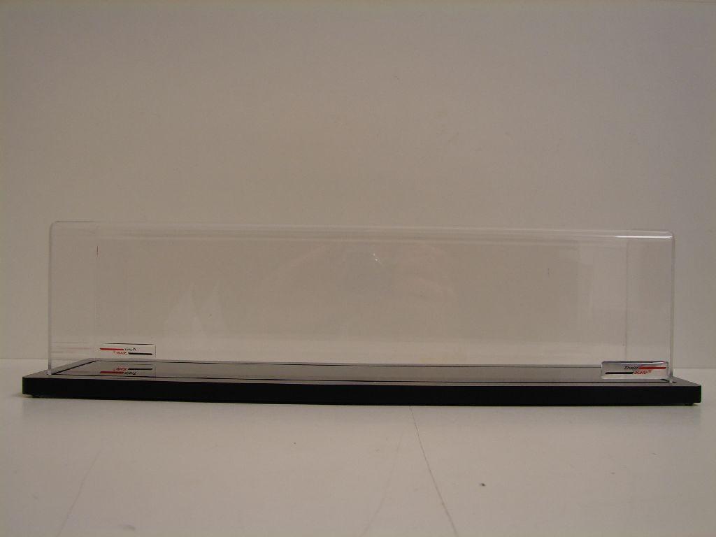 Trainsafe display traccia h0 pure 58 cm di lunghezza incl. cappa dp-h0-058 Merce Nuova