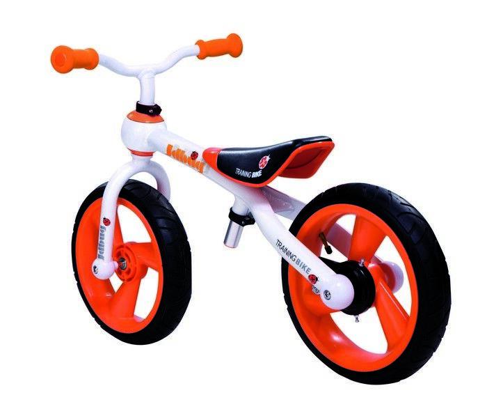Bicicletta senza pedali alluminio 12 arancio 588320017 JDBug Gioco