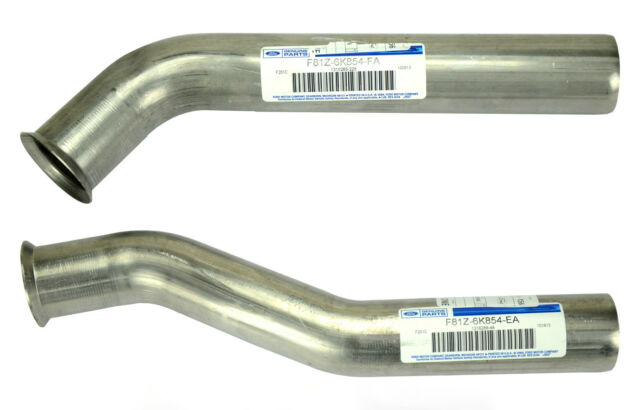 NEW OEM 1999-2003 Ford 7.3L Diesel Turbo Exhaust Up Pipes, Gaskets, Seals - BOTH