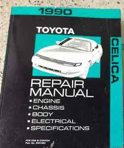 1990 toyota celica service repair shop workshop manual factory oem rh ebay com 1990 toyota celica owners manual 1990 toyota celica owners manual