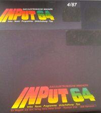 Input 64 4/87 1987 Commodore C 64 Diskette