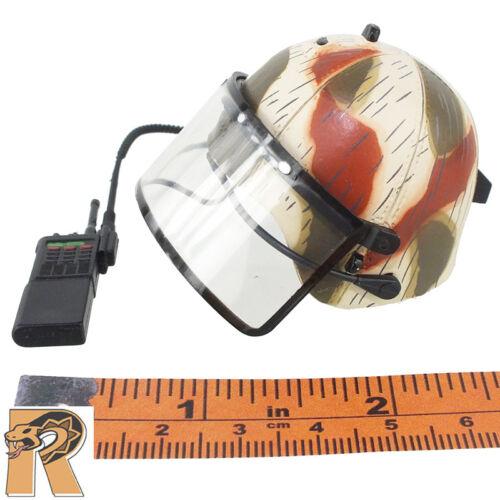 Dragon Action Figures Helmet w// Shield /& Radio 1//6 Scale Ulrich GSG-9