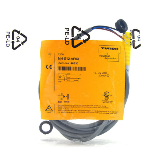 TURCK Ni4-S12-AP6X 46532 Inductive sensor PNP