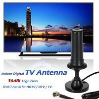 Indoor Digital Tv Antenna 36dbi High Gain Full Hd 1080p For Hdtv / Dtv / Tv T6l5
