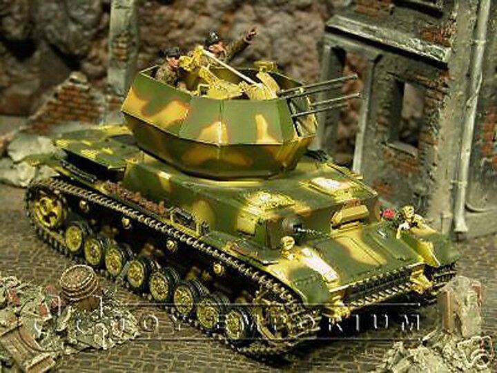 Jubilado Forces of valor -  NUEVO  alemán Flakpanzer Wirbelwind