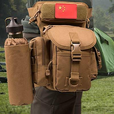 Outdoor Military Tactical Waist Pack Thigh Drop Leg Bag Backpack Utility Cycling