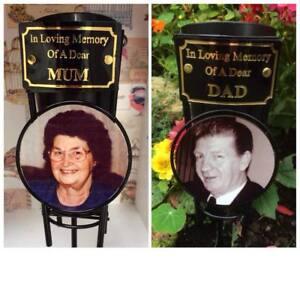 Memorial-Spike-Flower-Vase-Photo-Plaque-Vase-For-Grave-personalised