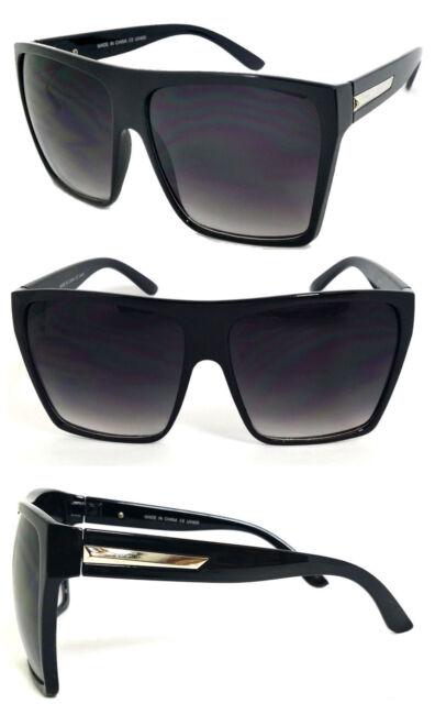 Flat Top Square Large Huge Big Oversized Wayfare Aviator Sunglasses Mens  Womens 4901e9c88