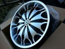 "22"" Inch Sovrano S10 wheels Rims Fits 5X4.5 Maxima Mustang CTS DTS Impala"