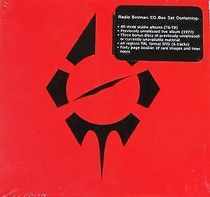 Radio-Birdman-Boxed-Set-Self-Titled-7-CD-amp-DVD-Region-0-PAL-NEW