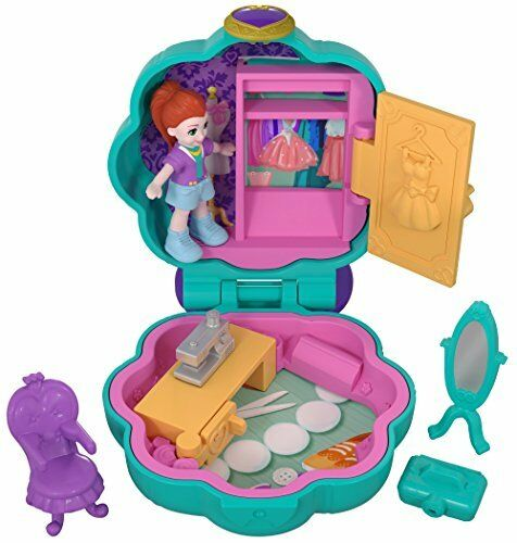 Polly Pocket FRY31 minuscules endroits Studio Compact Playset