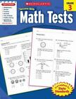 Scholastic Success with: Math Tests (2010, Paperback)