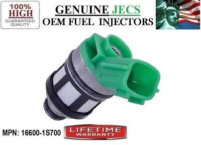 Genuine OEM Jecs 1pc Fuel Injector for Nissan Frontier Pickup Xterra 2.4L I4