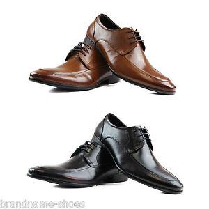 MENS-ZASEL-DANIEL-Black-Brown-Leather-Lace-Up-Work-Formal-Dress-Wedding-Shoes