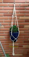 Macramé Planter Or Aquarium Hanging Basket Handmade 39 4mm Cotton Cord - Ch01