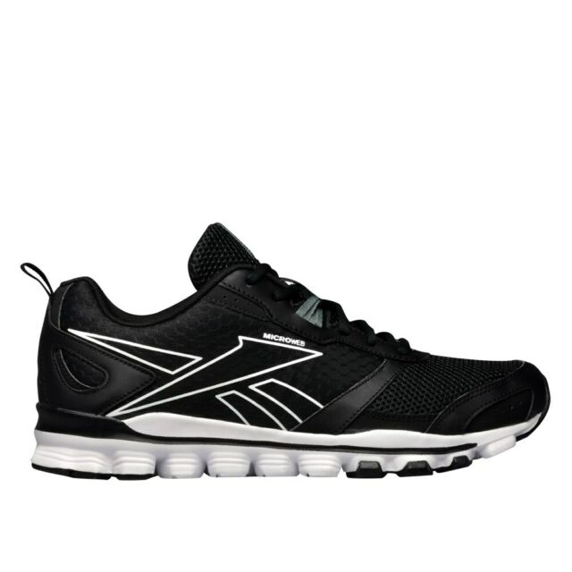 differently 46b58 814f1 Reebok Hexaffect Run LE AQ9359 black halfshoes