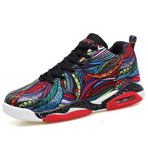 Men-039-s-Women-039-s-Basketball-Running-Shoes-Athletic-Fashion-Sneakers-Shoes-Big-Size