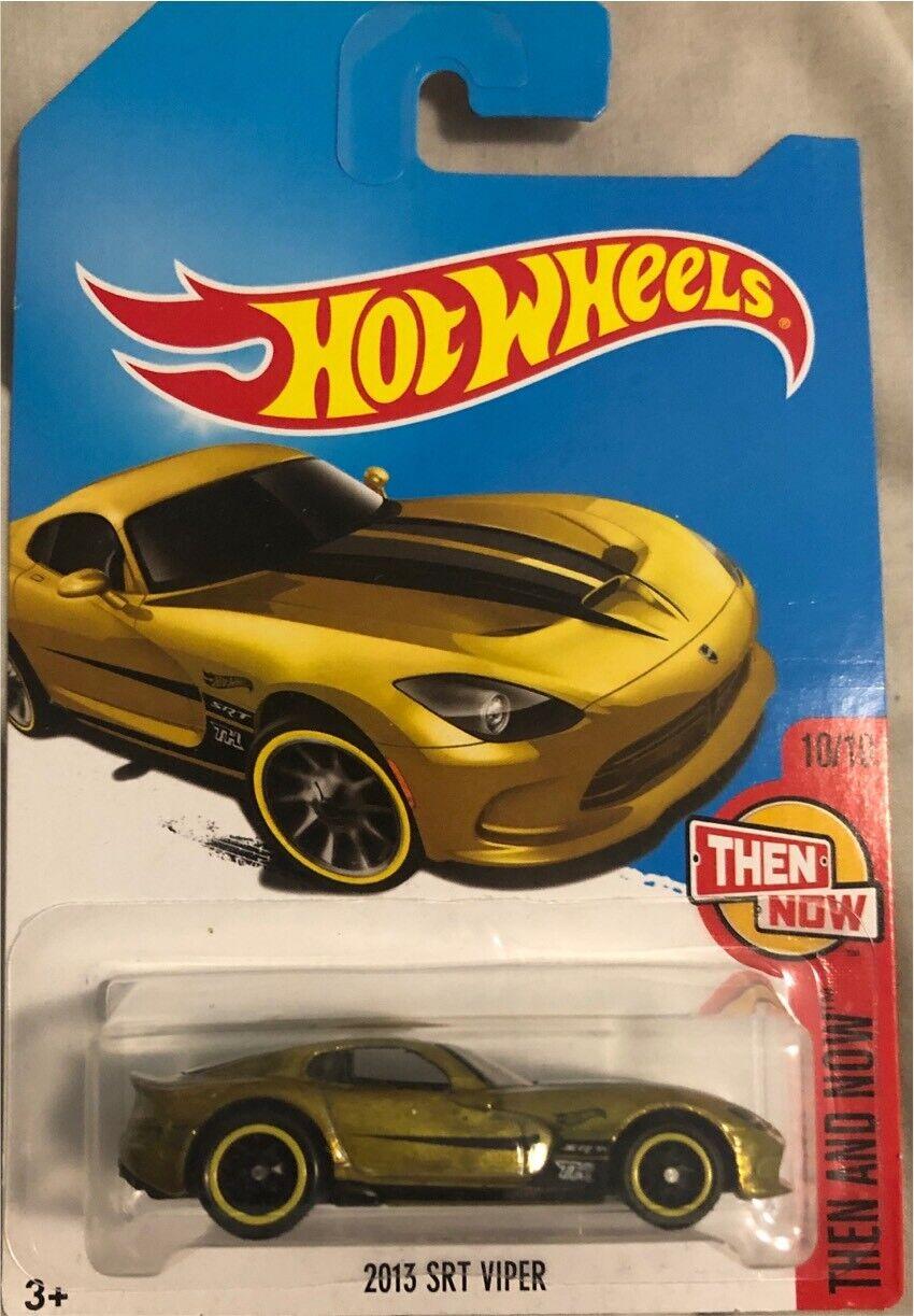 Rare Golden 2013 Dodge Viper Super Treasure Hunt
