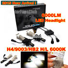 2015 New 40W 6000LM H4 (9003/HB2) H/L Cree LED Headlight Kit Driving Lamp 6000K