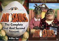 Dinosaurs Complete Tv Series 1 2 3 4 Henson Dvd