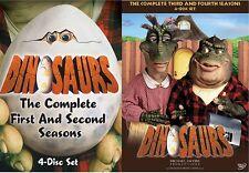 DINOSAURS COMPLETE TV SERIES 1 2 3 4 Henson DVD NEW
