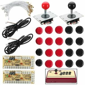 Joystick-Push-Button-Zero-Delay-Arcade-Game-DIY-Kit-For-MAME-Raspberry-Pi-AC608