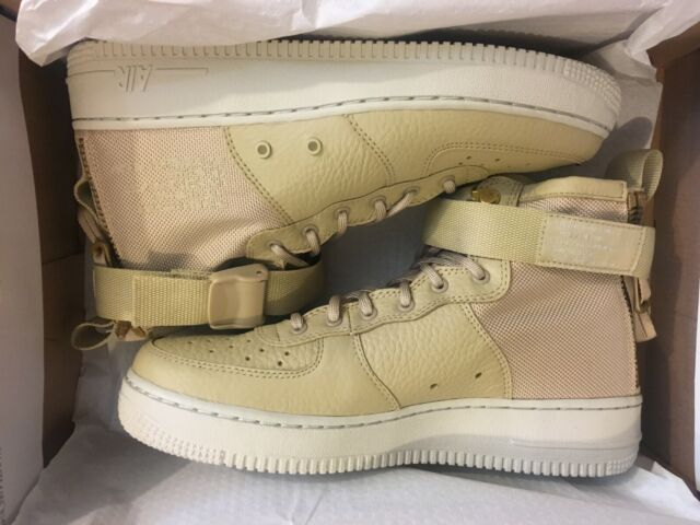 d1815f297a NEW NIKE AIR FORCE 1 MID SF AF1 MUSHROOM SHOES AJ0424-200 GS YOUTH SIZE