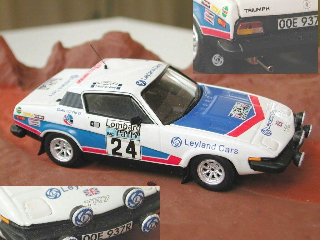 1 43 TRIUMPH TR7 TR8 Rally  24 Diecast