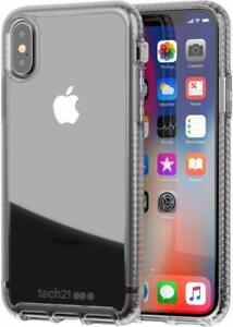 Tech21-Pure-Clear-Case-Slim-Protection-Cover-for-Apple-iPhone-XS-X-Crystal-Clear