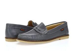 Munro Boys Black Leather Penny Loafer Dress Shoe Toddler Size 8.5 Kid 13.5