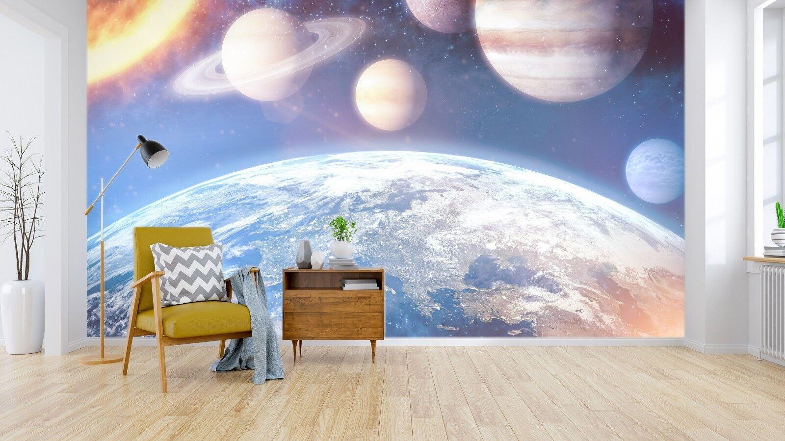 3D Raum Raum Raum Planet 962 Tapete Wandgemälde Tapete Tapeten Bild Familie DE Sidney | Garantiere Qualität und Quantität  | Attraktiv Und Langlebig  |  7cc570