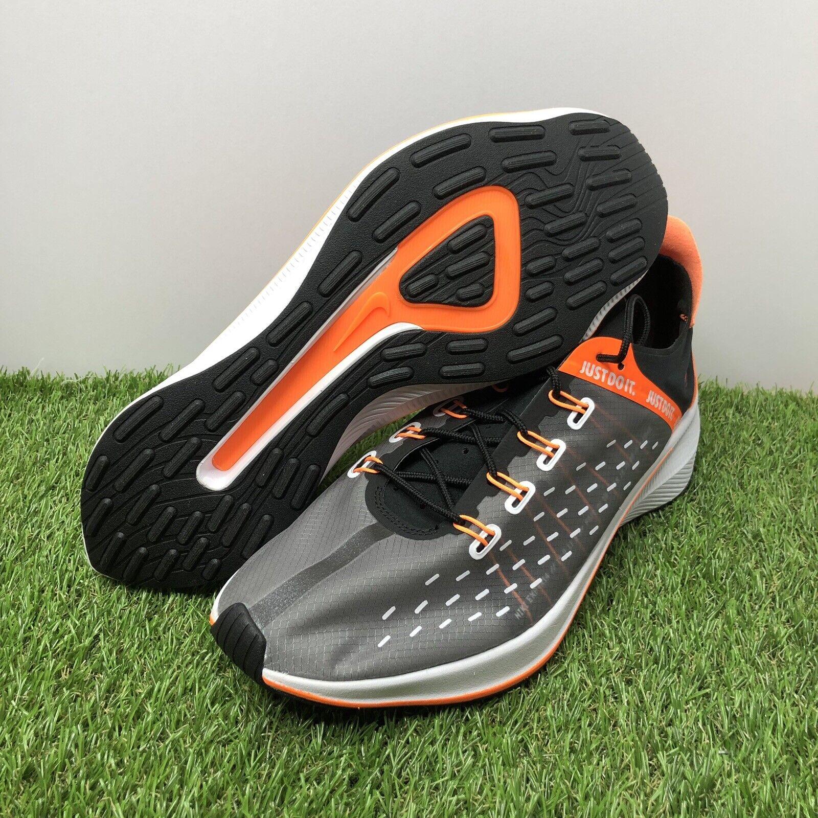 Nike EXP-X14 SE Just Do It Black orange Mens Running shoes Size 11 (AO3095-001)
