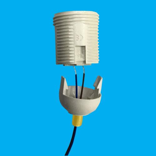 10x M10 20mm x 10mm Brass Allthread Hollow Threaded Rod Tube Electrical Lamp