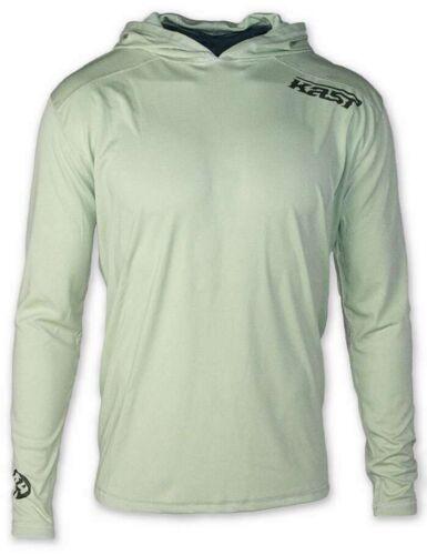 NWT Kast Ronin Tech Top Fishing Shirt Size 3 XL Hoody Sage Green XXXL