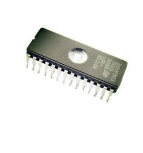10PCS-M27C128A-10F1-IC-Eprom-Uv-128-kbit-100NS-28-CDIP-Nueva-Buena-Calidad
