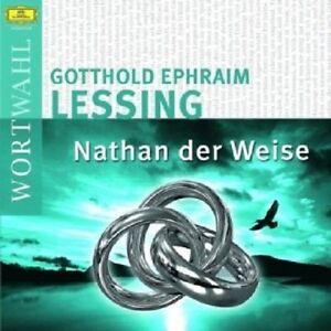 ERNST-DEUTSCH-LESSING-NATHAN-DER-WEISE-2-CD-23-TRACKS-HORBUCH-NEU