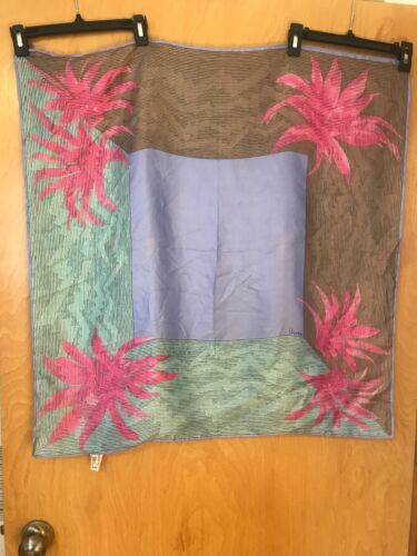 RARE Vintage Vera Neumann Silk Scarf
