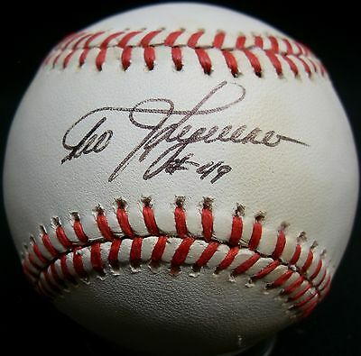 Obliging Jsa Teddy Higuera Autographed Signed Auto Mlb Bobby Brown Baseball Zdv 514 Packing Of Nominated Brand Baseball-mlb