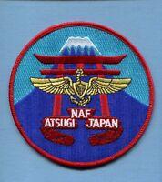 Naf Naval Air Facility Nas Atsugi Japan Us Navy Base Squadron Jacket Patch