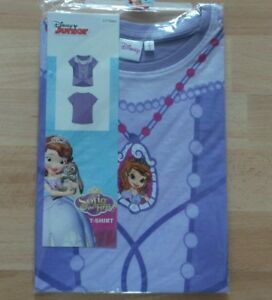 DISNEY-JUNIOR-034-SOFIA-THE-FIRST-034-SHORT-SLEEVED-T-SHIRT-BRAND-NEW-SEALED-AGE-2-3