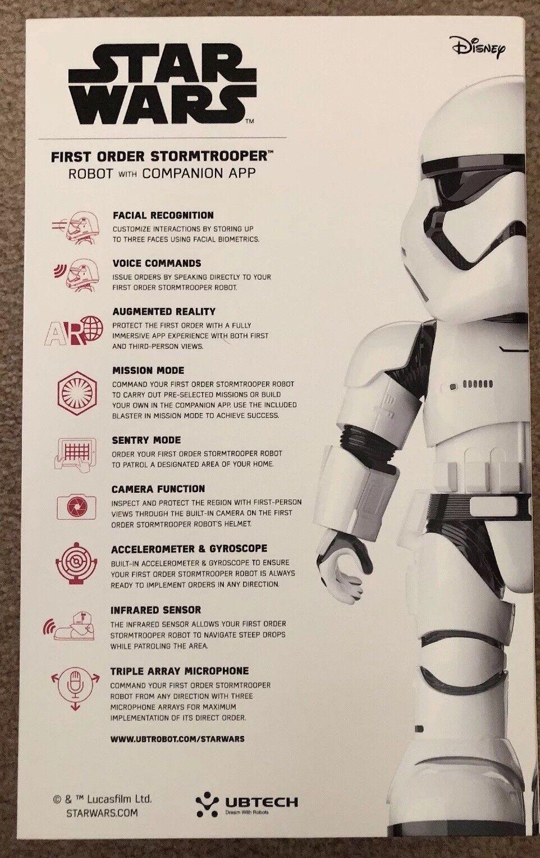 UBTECH UBTECH UBTECH Star Wars First Order Stormtrooper Robot With Companion App BRAND NEW fe3ec9