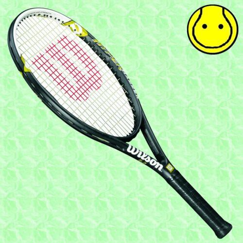 New Wilson Hammer 5.3 Oversize Tennis Racquet 4-1//8 Grip Strung