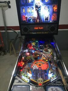 Addams Family Pinball Flipper 1993 LEDs BALLY