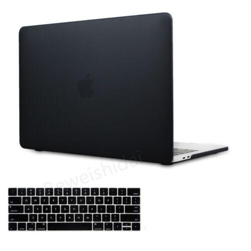 "For Macbook Pro 13 15/"" 2016 A1706 A1707 Hard black Case Cover /&TPU keyboard film"