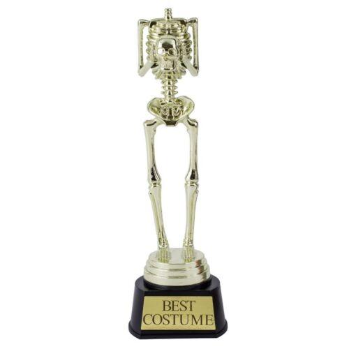 Halloween Best Costume Award Trophy Skeleton Statue award Fancy Dress Prize 24cm