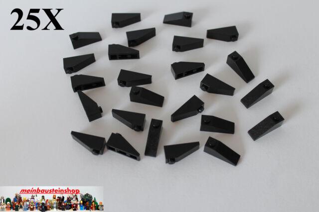 10 x LEGO® 4286 schwarze Dachsteine 1x3 neu. 33°